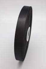 Атласная лента черная