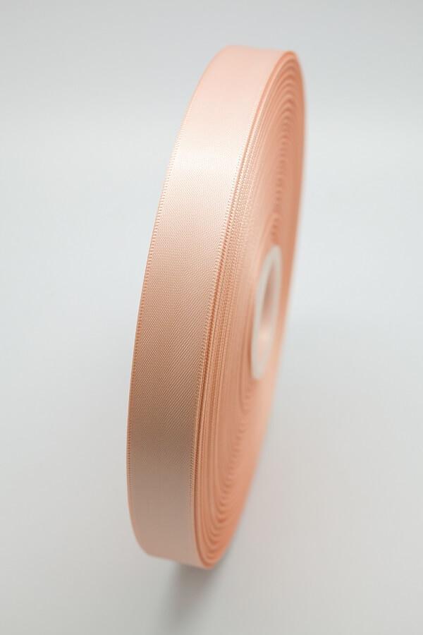 Атласная лента темно-розовая
