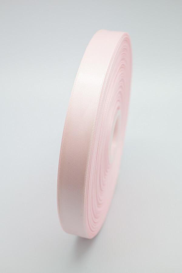 Атласная лента розовая