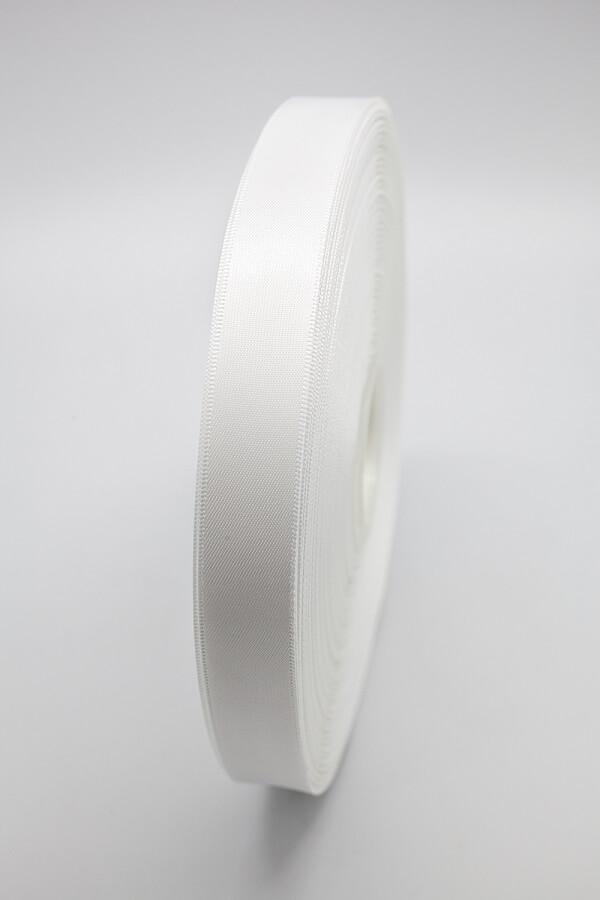 Атласная лента белая