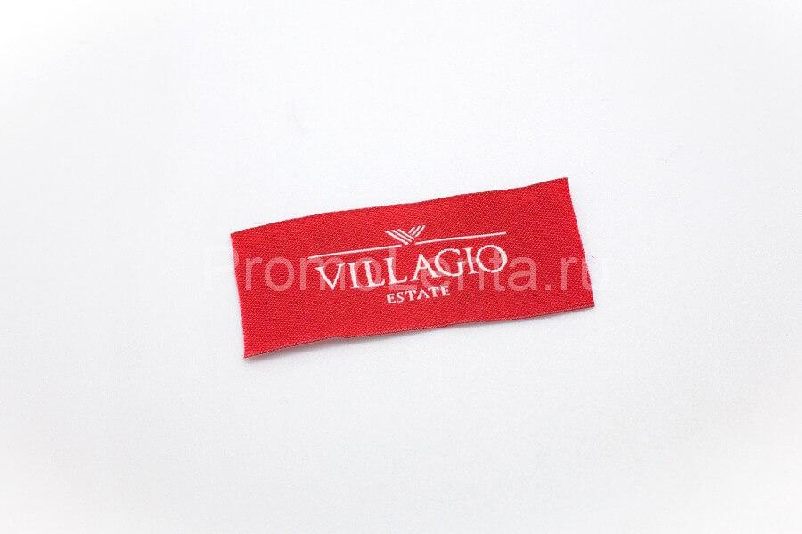 Жаккардовая этикетка «Villagio»