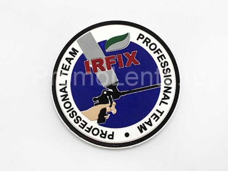 Этикетка ПВХ для одежды«IRFix»