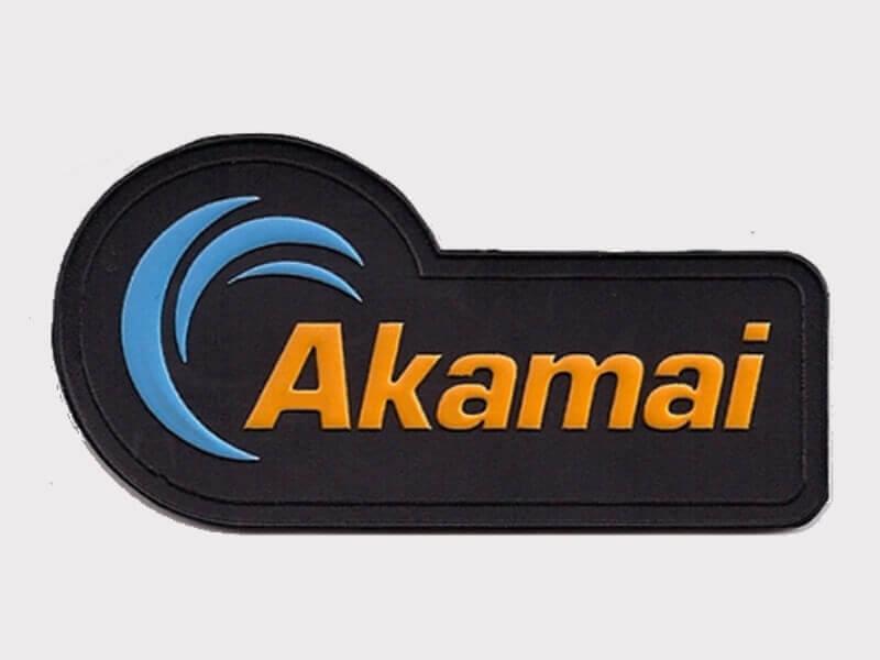 Этикетка ПВХ «Akamai»