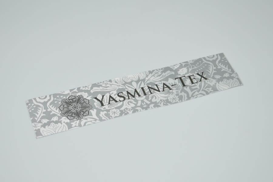 Этикетка на одежду «Yasmina-Tex»