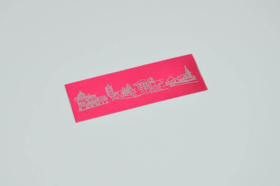Печатная этикетка «Узор»