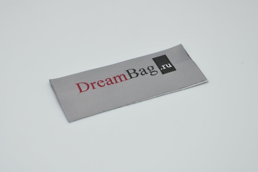 Лейбл на сумку «DreamBag.ru»