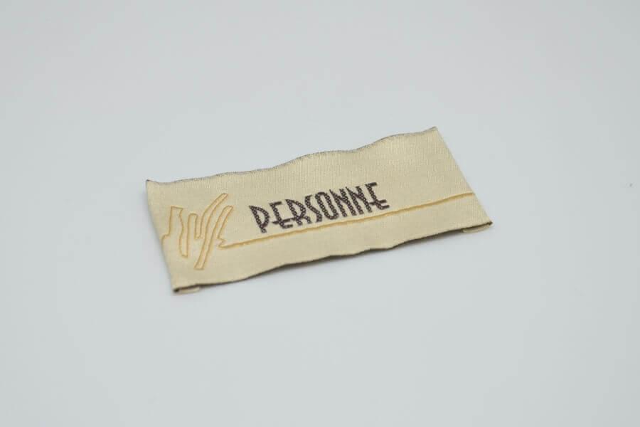Лейбл на одежду «Personne»
