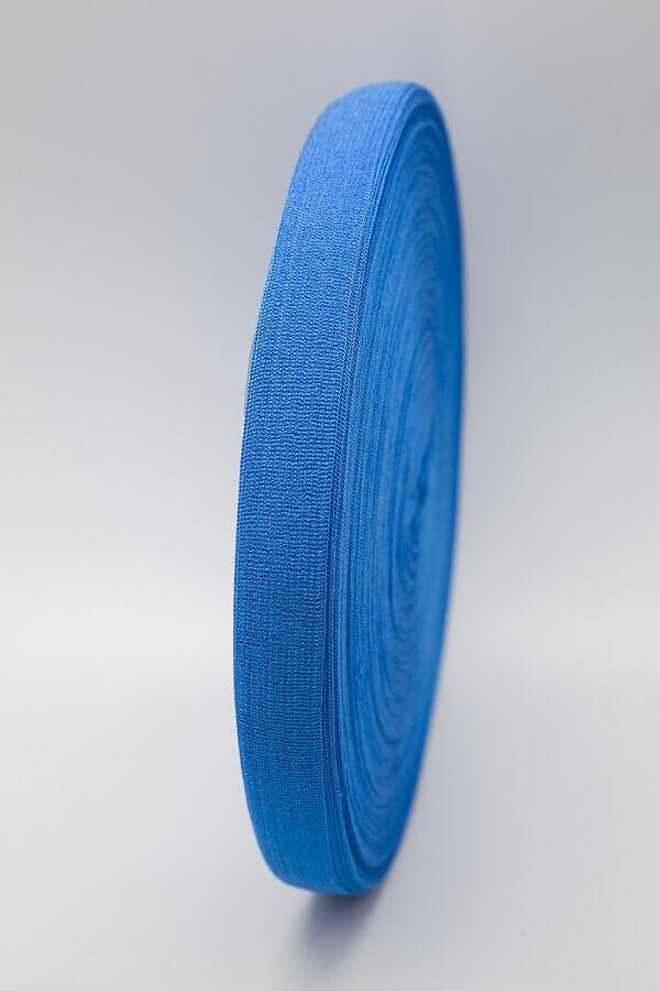 Лента органза синяя