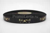Лента с тиснением «Balance»