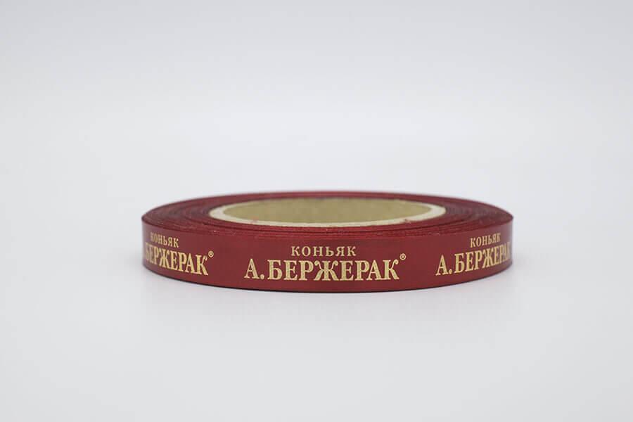 Лента с тиснением «Бержерак»