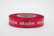 Лента с тиснением «Krasiva»