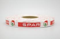 Лента с печатью «Spar»