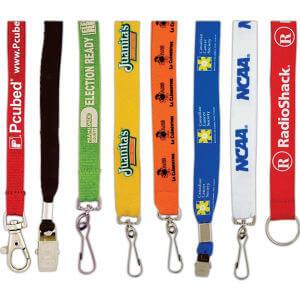 ленты для бейджей с логотипом (ланъярды)
