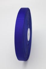 Репсовая лента синяя