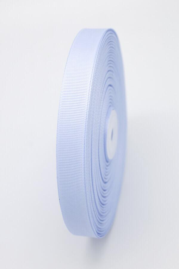Репсовая лента голубая