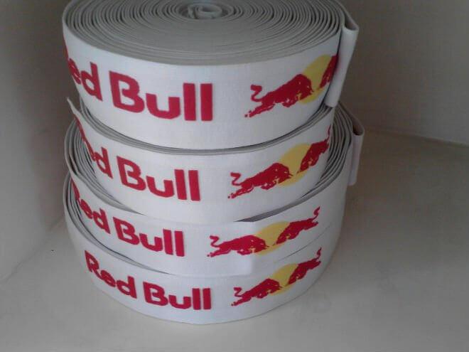 Резинка с логотипом «Red Bull»