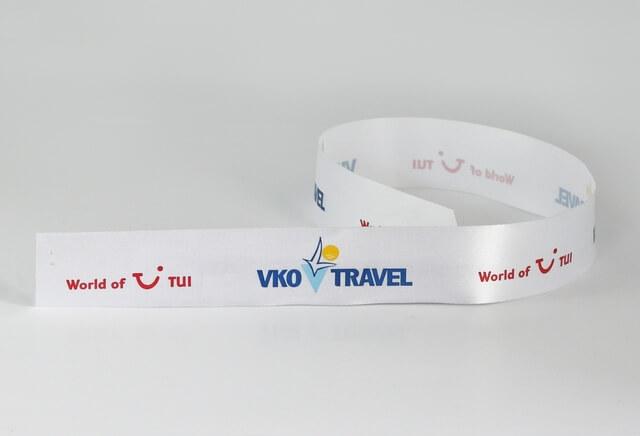 Лента с логотипом «Вко тревел»