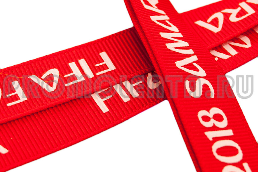 ленты для бейджей шелкография 900-600 6